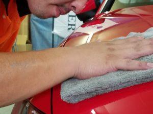 綺麗な洗車の秘密は〇〇〇〇〇にあり!